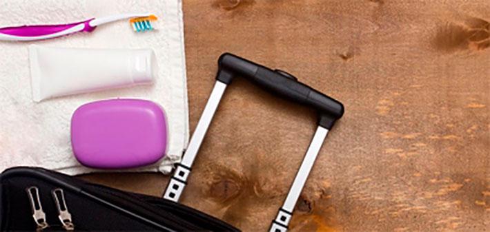 imagen destacada sobre noticia de higiene bucal de viaje